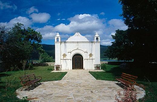 Museum. Hotel Santa Maria. Chiapas, Mexico. : Stock Photo
