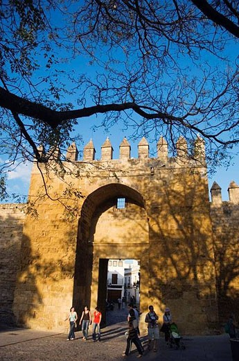 Stock Photo: 1436R-284458 Puerta de Almodovar, Cordoba, Andalucia, Spain