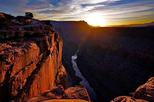 Grand Canyon and Colorado River. Arizona, USA : Stock Photo