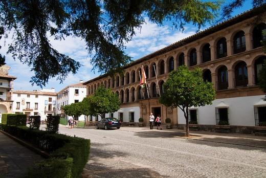 Ayuntamiento de Ronda  Malaga  Andalucia  España : Stock Photo