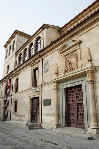 Palacio de la Diputación Provincial  Zamora, Castilla y León, España : Stock Photo