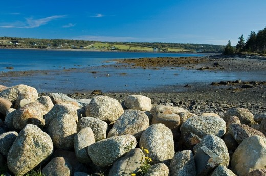Gilberts Cove, Nova Scotia : Stock Photo