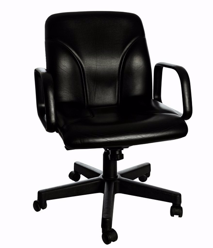 Stock Photo: 1436R-298467 Office Chair Cut Out