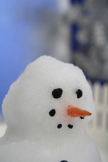Snowman : Stock Photo