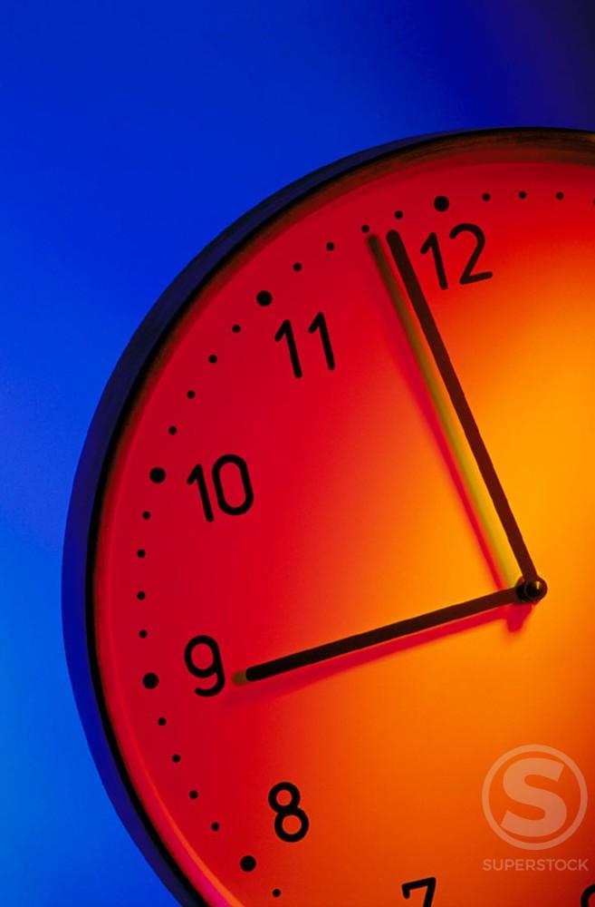 Stock Photo: 1436R-30015 Clock