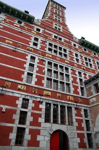 Stock Photo: 1436R-300881 Grand Curtius museum Liege Belgium