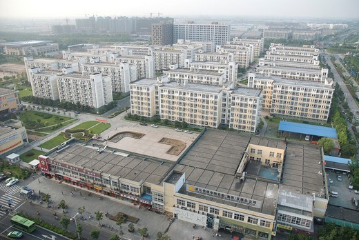 Stock Photo: 1436R-301908 High-rise buildings, Hangzhou, China