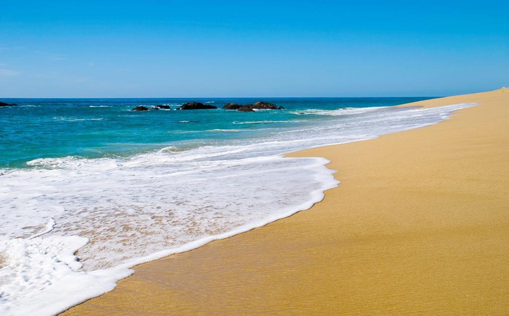 Stock Photo: 1436R-302292 Beach in Cabo San Lucas Mexico