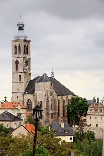 St Jacob church, Kutna Hora, Bohemia, Czech Republic : Stock Photo