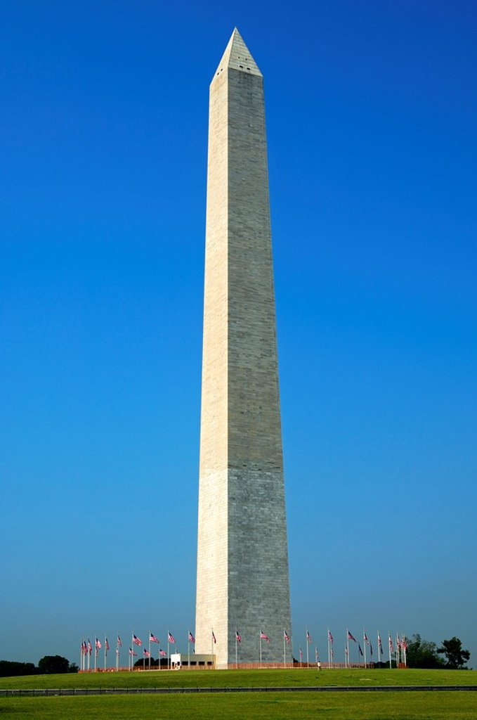 Stock Photo: 1436R-304158 Washington Monument, Washington D C , USA,