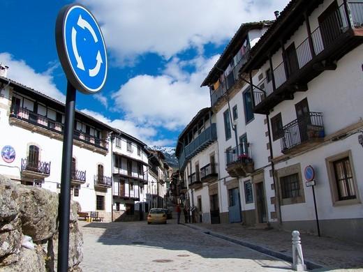 Stock Photo: 1436R-308233 Candelario. Salamanca. Castilla y Leon. Spain. Europe.
