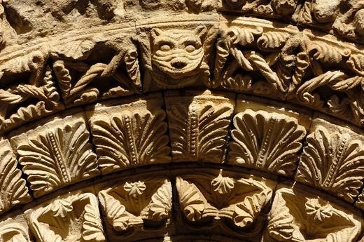 Romanesque church of La Magdalena (12th century), Zamora, Castilla-Leon, Spain : Stock Photo