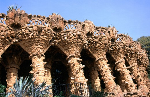 Stock Photo: 1436R-31019 Guell Park