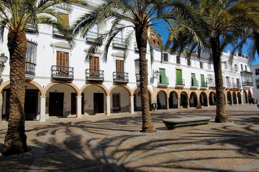 Plaza Grande, Zafra, Badajoz province, Extremadura, Spain : Stock Photo