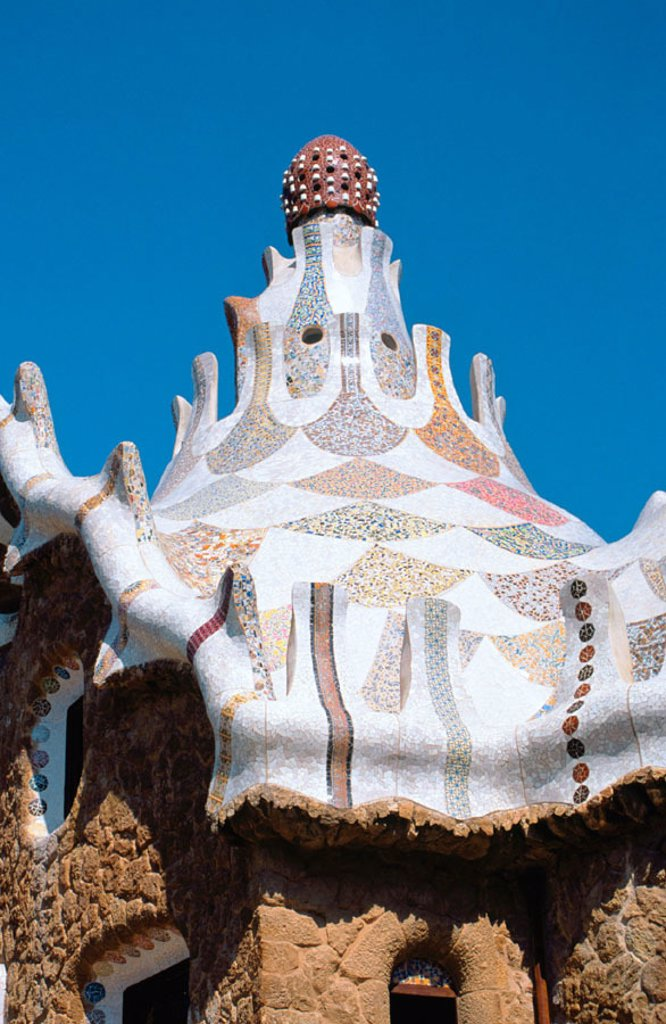 Stock Photo: 1436R-31028 Guell Park