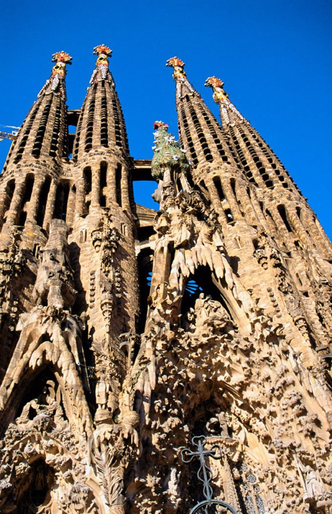 Stock Photo: 1436R-31049 Sagrada Familia