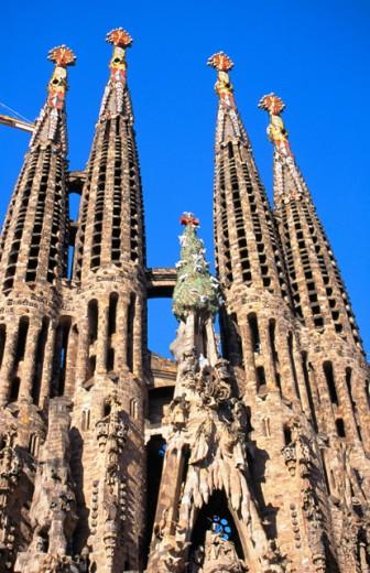 Stock Photo: 1436R-31050 Sagrada Familia Barcelona Spain