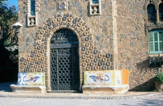 Bellesguard Barcelona Spain : Stock Photo