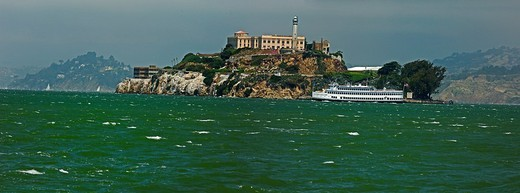 Alcatraz Island : Stock Photo