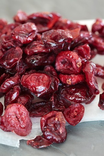 Dried Cranberries : Stock Photo