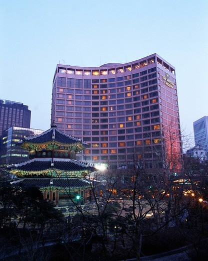Westin Chosun Hotel, Seoul, Korea : Stock Photo