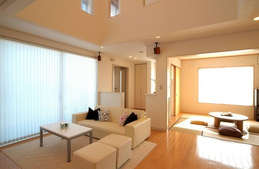 Stock Photo: 1436R-319776 Living Room