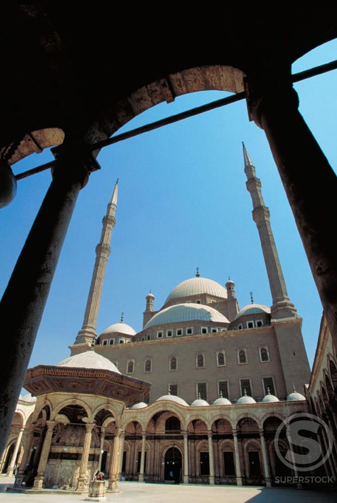 Stock Photo: 1436R-32047 Muhammed Ali Mosque Cairo Egypt