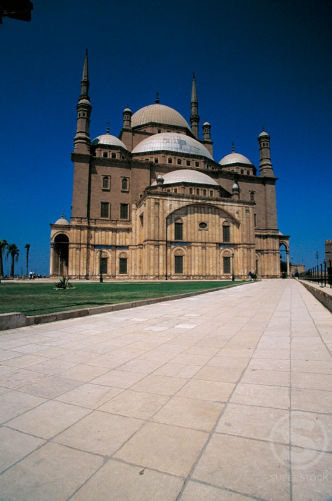 Stock Photo: 1436R-32048 Muhammed Ali Mosque