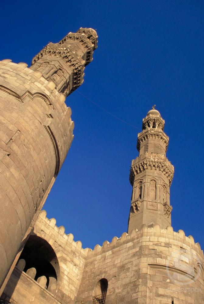 Stock Photo: 1436R-32051 Bab Zuwayla  (Gate of Zuwayla) Cairo Egypt