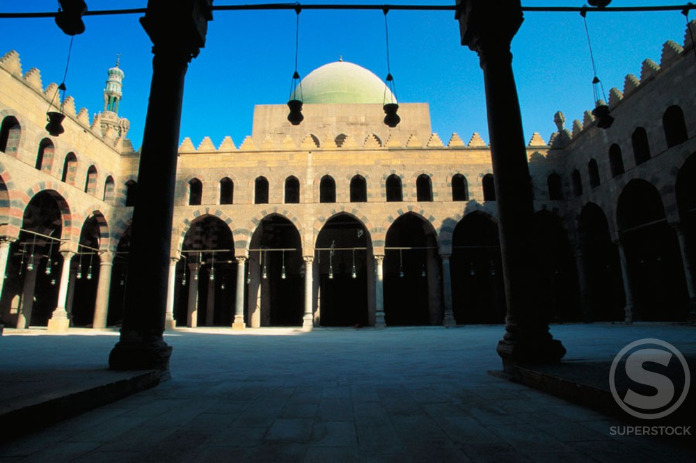 Stock Photo: 1436R-32071 Naser Muhammed Mosque