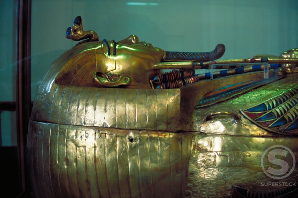 Sarcophagus of Tutankhamun