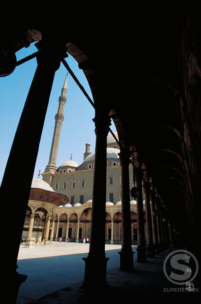 Stock Photo: 1436R-32096 Muhammed Ali Mosque