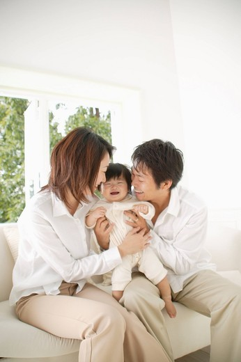 Stock Photo: 1436R-326081 Portrait of a family