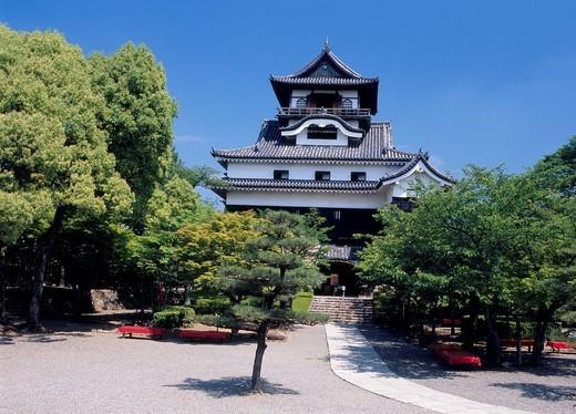 Stock Photo: 1436R-338283 Inuyama Castle, Inuyama, Aichi, Japan