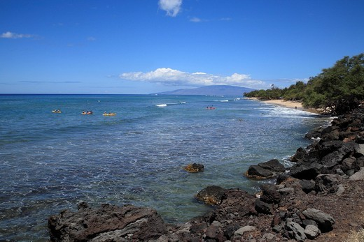 Papalaua Beach, Maui, Hawaii, U.S.A. : Stock Photo