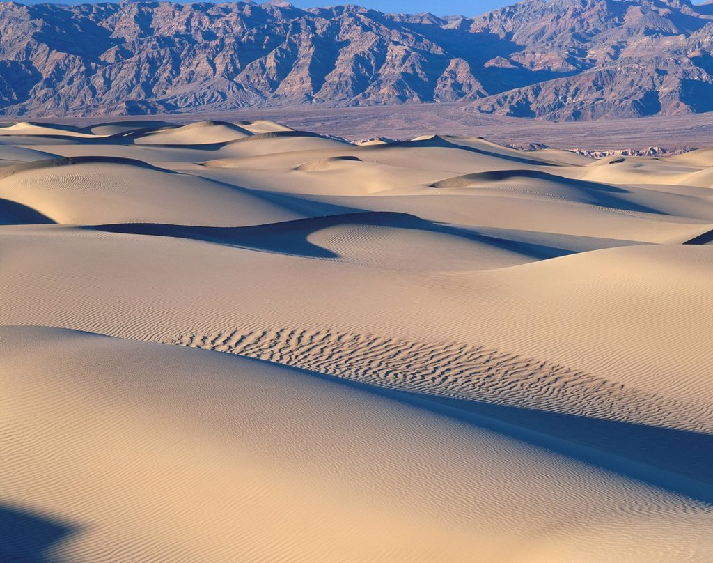 Stock Photo: 1436R-340096 Death Valley National Park, California, USA