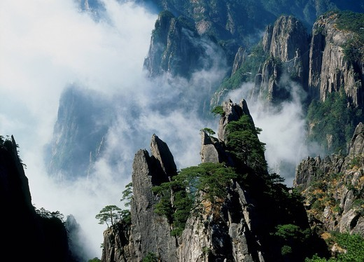 Mount Huangshan, Anhui Province, China : Stock Photo