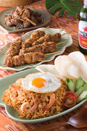 Stock Photo: 1436R-343947 Indonesian Cuisine