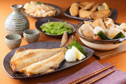 Izakaya dishes : Stock Photo