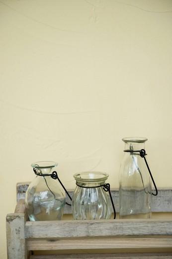 Empty bottles : Stock Photo