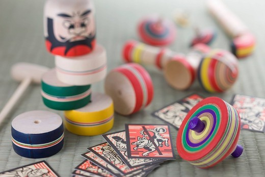 Japanese traditional toy : Stock Photo
