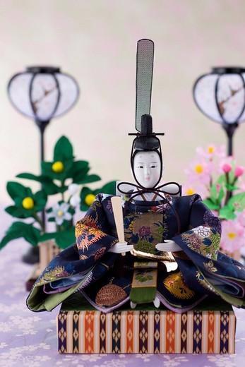 Stock Photo: 1436R-347410 Japanese hinamatsuri doll