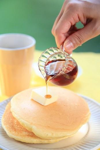 Stock Photo: 1436R-348723 Pancake