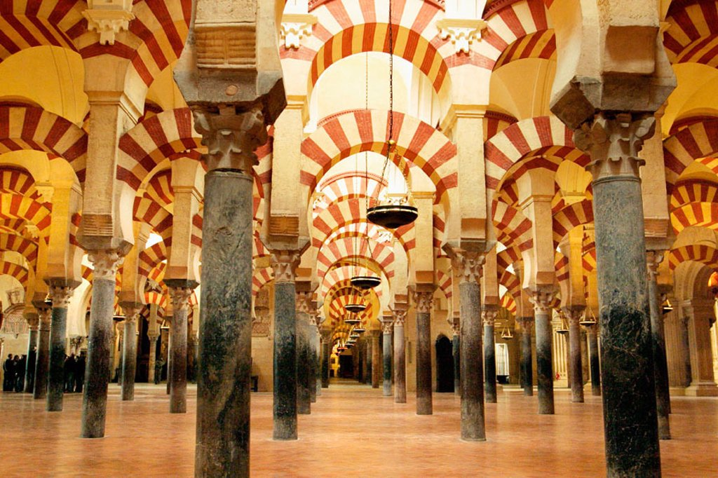 Stock Photo: 1436R-349145 Great Mosque of Cordoba. Andalusia, Spain