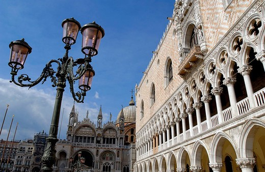 St. Mark´s Square and Doge´s Palace. Venice. Veneto, Italy : Stock Photo