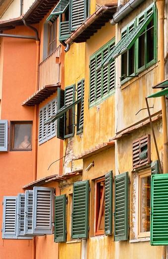 Stock Photo: 1436R-349379 Ponte Vecchio. Florence. Tuscany, Italy