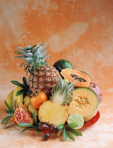 Tropical fruits : Stock Photo