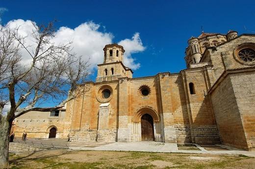 Santa María la Mayor collegiate church  (12th-13th Centuries). Toro. Zamora province, Spain : Stock Photo