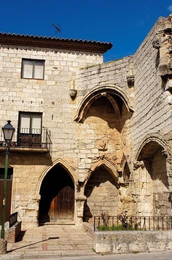Bustamente Palace. Toro. Zamora province, Spain : Stock Photo