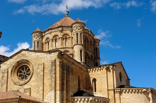 Santa María la Mayor collegiate church  (12th-13th Centuries). Toro. Zamora province, Spain : Stock Photo
